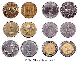 Israeli Coins - Frontal