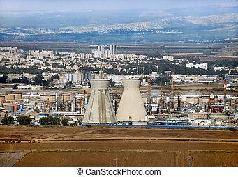 Israeli oil Refinery in Haifa