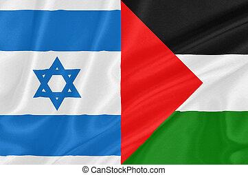 israeli–palestinian, konflikt