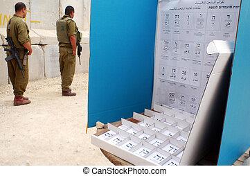israels, 議会, 選挙, 日