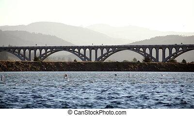 Issac Lee Patterson Bridge - Bridge Over Rogue River Oregon...