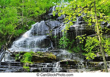 Issaqueena Falls - Peaceful view of Falls located just north...