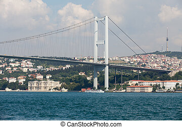 Istambul - Bosporus Bridge connecting Europe and Asia