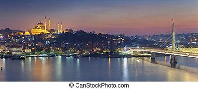 istambul, panorama.