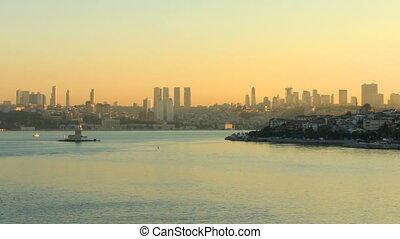 Istanbul at dawn