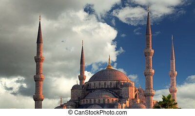 Istanbul at day - blue mosque - tim
