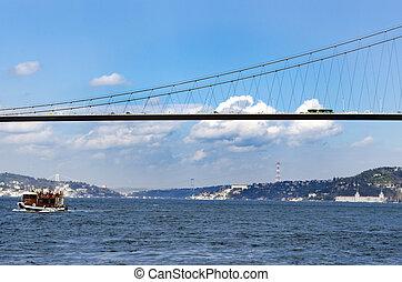 Istanbul Bosphorus, The Bosphorus Bridge