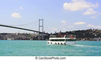 Istanbul, Bosporus Bridge