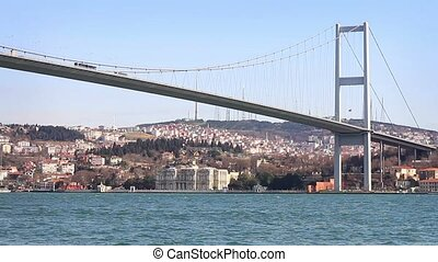 Bosporus Bridge - Istanbul Bosporus Bridge view from Ortakoy...
