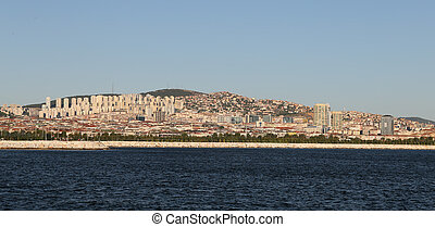 Istanbul City in Turkey - Cityscape of Istanbul City and...