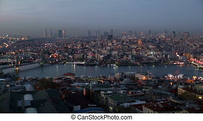 Istanbul City - Istanbul city view at the night