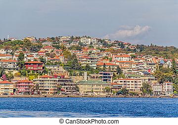 Istanbul coastal, panorama