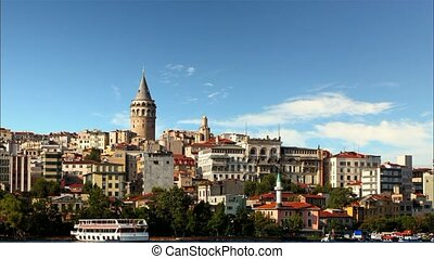 Istanbul - Galata district, Turkey