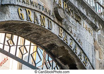 Istanbul grand bazaar - The famous historic grand bazaar...
