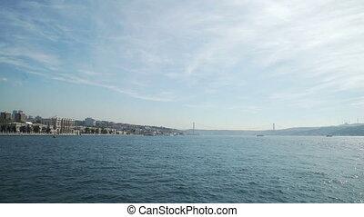 Istanbul Landscape and Bosphorus Turkey