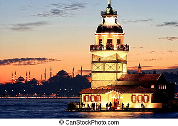 Istanbul Maidens Tower