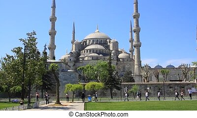 Blue Mosque - ISTANBUL - MAY 16: Blue Mosque on May 16, 2013...