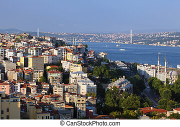 Istanbul Panorama at sunset