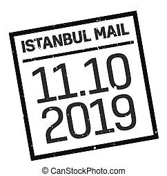 Istanbul postage stamp
