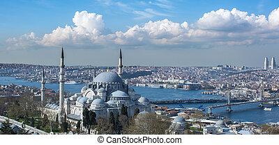 istanbul, stad