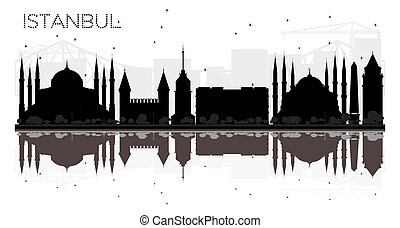 moschee silhouette istanbul. Black Bedroom Furniture Sets. Home Design Ideas