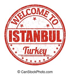 Istanbul stamp