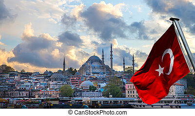 Istanbul the capital of Turkey