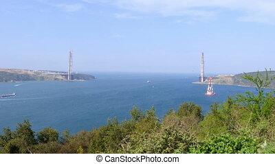 istanbul third bridge construction