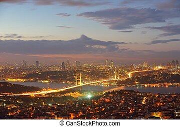 Istanbul Turkey Bosporus Bridge