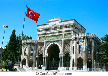 istanbul, università