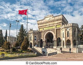 Istanbul university building, Turkey