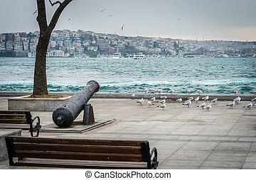 Istanbul winter day in Turkey