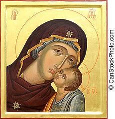 isten, anya, krisztus, jézus