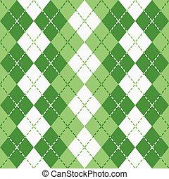 istenverte, argyle_green-white