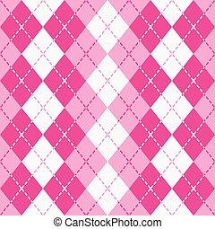 istenverte, argyle_pink-white