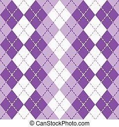 istenverte, argyle_purple-white