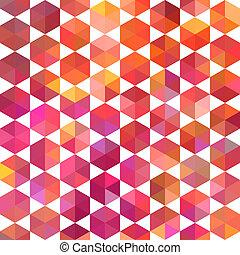 it., 三角形, 背景。, カラフルである, パターン, 上, shapes., 三角形, バックグラウンド。, 背景, 情報通, モザイク, テキスト, 場所, 幾何学的, あなたの, 背景, レトロ