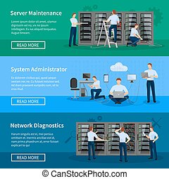 IT Administrator Horizontal Banners - IT administrator...