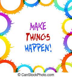 it., conceito, palavra, negócio, happen., texto, fazer, difícil, escrita, vontade, ter, coisas, esforços, ordem, tu, alcance