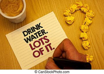 it., foto, water., pennarello, nostro, scrittura, lotti,...