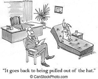 "It goes back to being pulled out of the hat - ""It goes back..."