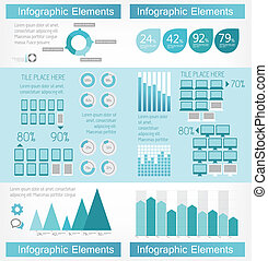 IT Industry Infographic Elements. Vector Illustration EPS 10.