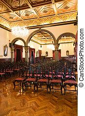 it is a beautiful auditorium hall in macau