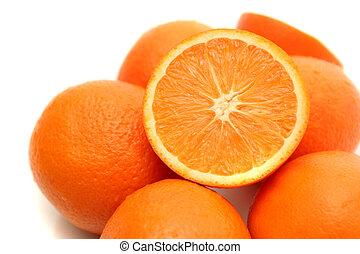 It is a lot of oranges
