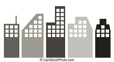 cityscape. - It is an illustration of the cityscape.