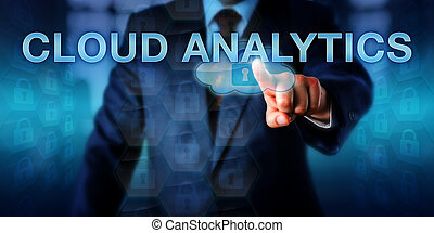 IT Leader Touching CLOUD ANALYTICS - Information technology...