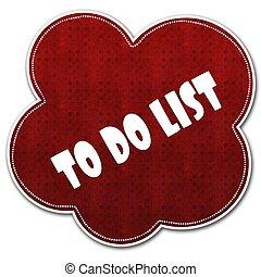 it., modèle, liste, écrit, nuage, texte, rouges