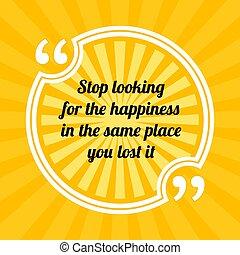 it., perdu, quote., motivation, arrêt, même, regarder, ...