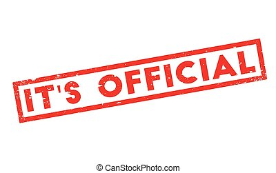 it s official stamp with text it s official inside vector illustration rh canstockphoto com it's official it's official