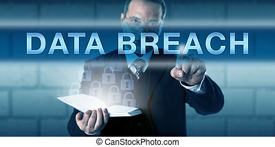 IT Security Practitioner Pressing DATA BREACH - IT security...